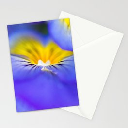 Pansy Abstract Stationery Cards