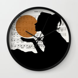 Music in the sun Wall Clock