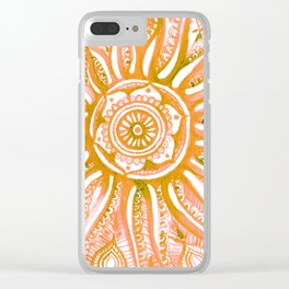 Bright Dial Clear iPhone Case