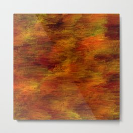 Autumn abstract texture Metal Print