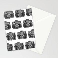 I Still Shoot Film Holga Logo - Black and White Stationery Cards