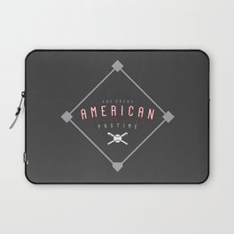 Baseball - The Great American Pastime Laptop Sleeve