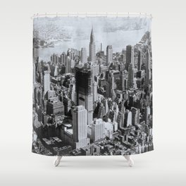 Vintage New York City Shower Curtain