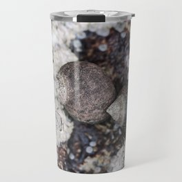 Periwinkles and Barnacles on a rock Travel Mug