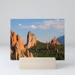 Garden of the Gods Mini Art Print