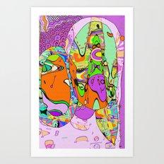 Funkified Art Print