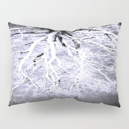 Twisted Perception gray Pillow Sham
