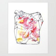 Takeout I Art Print