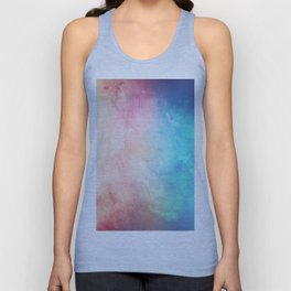 Fire and Ice - Watercolor Painting Unisex Tank Top