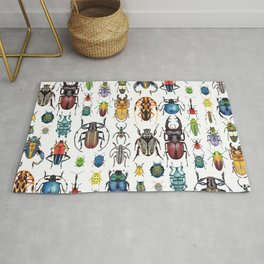Beetle Collection Rug