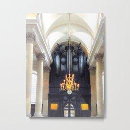 St Stephen Walbrook Church in London Metal Print