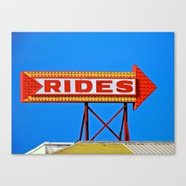 Let's Ride Canvas Print