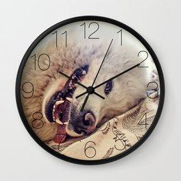 Playful One Wall Clock