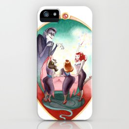 Sleeping Beauty, Mirror iPhone Case