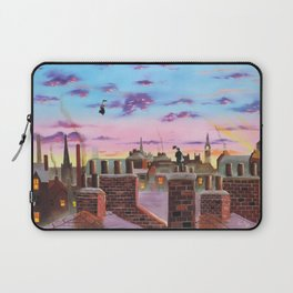 Mary Poppins and Bert Laptop Sleeve
