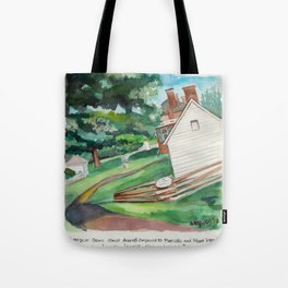 Montpelier cabins Tote Bag