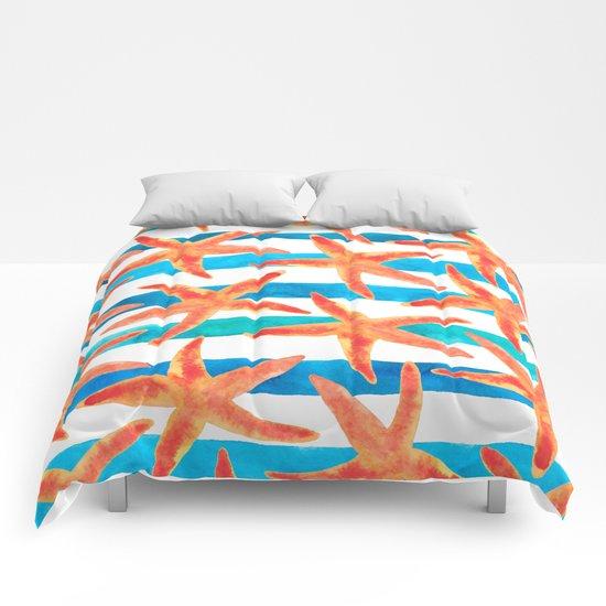 Starfish Tropics Comforters
