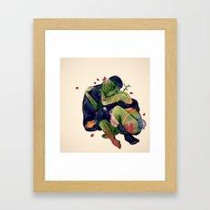 Mater T, Pater U Framed Art Print