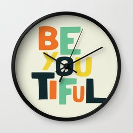 Be you! Wall Clock