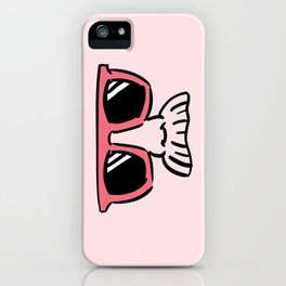 Too Cool (red magenta) iPhone Case