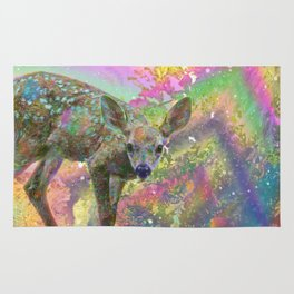 Paint with All the Colors on the Deer Rug