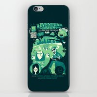 comics iPhone & iPod Skins featuring Adventure Comics by jublin