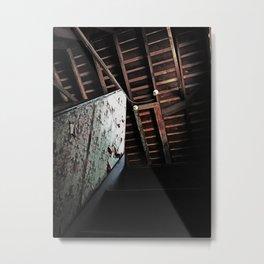Pooley Street Rafters Metal Print