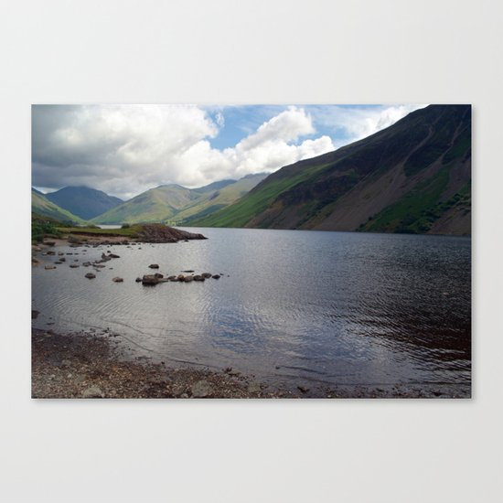 Across Wastwater  Canvas Print