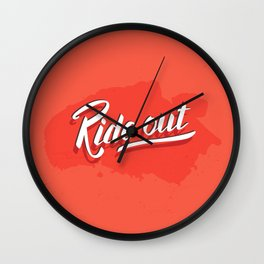 Ride out Wall Clock