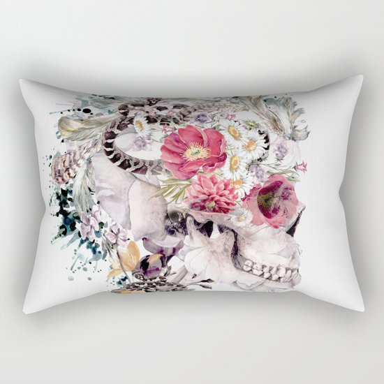 Momento Mori X Rectangular Pillow