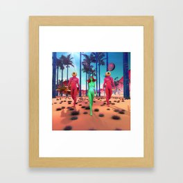 Visitors from Another Planet Framed Art Print
