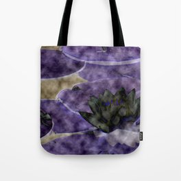 Different Water Lily  Tote Bag