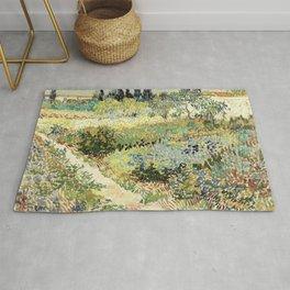 Vincent Van Gogh : Garden at Arles Rug