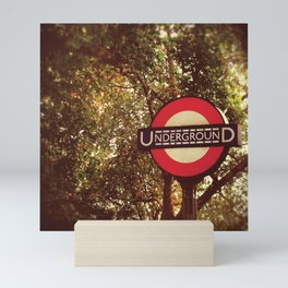 Going Underground Mini Art Print