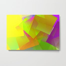 Predominant bright Metal Print