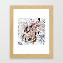 Direction Search Framed Art Print