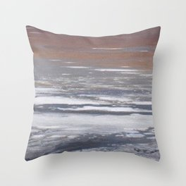 Alkali Lake Throw Pillow