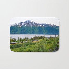 Alaska Passenger Train - Bird Point Bath Mat