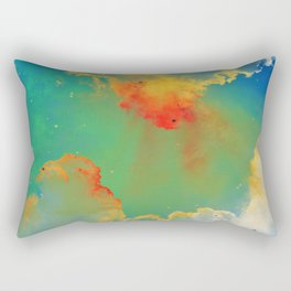 Goldfishes of the Universe Rectangular Pillow
