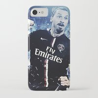 zlatan iPhone & iPod Cases featuring Zlatan Ibrahimovic by Max Hopmans / FootWalls