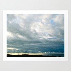 Grace Clouds Art Print