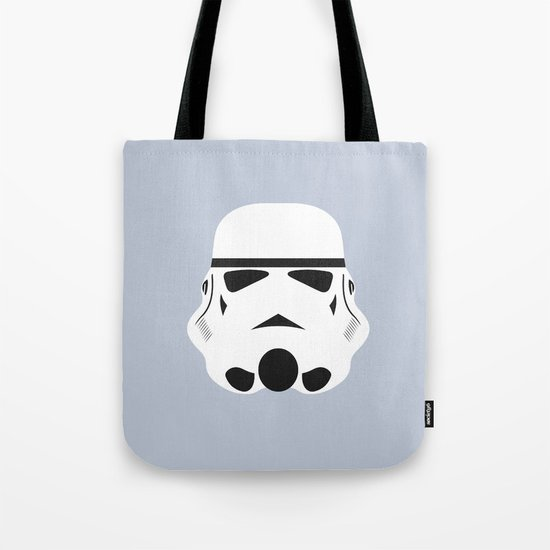 Star Wars Minimalism - Stormtrooper Tote Bag