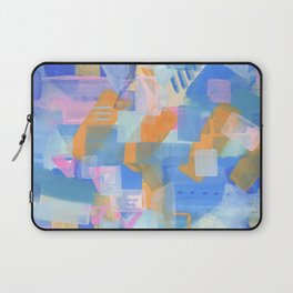 Geometric abstract in pastel Laptop Sleeve
