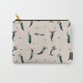 Pink Peacocks Carry-All Pouch