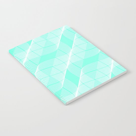 Mint Helix Notebook