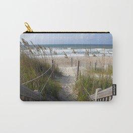 Peaceful Beach Scene Carry-All Pouch
