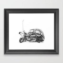 Cafe Racer II Framed Art Print