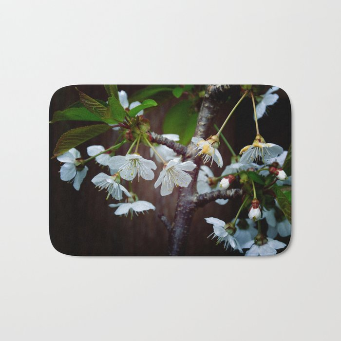 The beauty of Cherry flowers Bath Mat