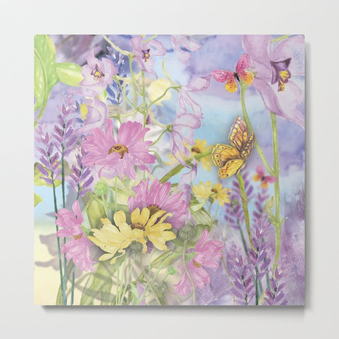 Macro Flower #19 Metal Print