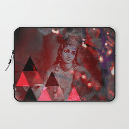 Krishna Reprise - The Hindu God Laptop Sleeve